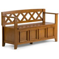 Simpli Home Amherst 48-Inch Entryway Bench in Avalon