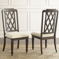 Steve Silver Co. Vivaldi Dining Side Chairs in Walnut (Set of 2)