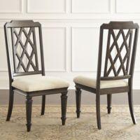 Steve Silver Co. Vivaldi Dining Side Chairs in Walnut (Set of 2)
