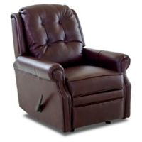 Klaussner Sand Key Recliner in Walnut