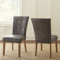 Steve Silver Co. Debby Side Chair in Grey (Set of 2)