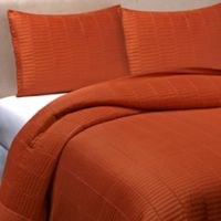Real Simple® Dune King Reversible Coverlet in Rust