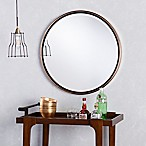Holly & Martin® Wais Round Wall Mirror in Champagne