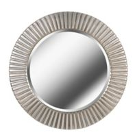 Kenroy Home North Beach 34-Inch Round Wall Mirror