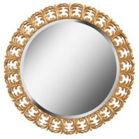 Kenroy Home Bontemps 33-Inch Round Wall Mirror