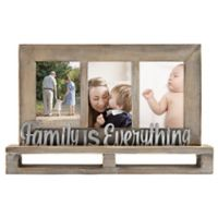 """Family is Everything"" Decorative Wood and Metal Frame"