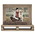 """Fav Photo"" Decorative Wood and Metal Frame"