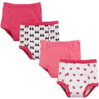 Luvable Friends Size 2T 4-Pack Ladybug Toddler Training Pants in Pink