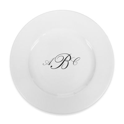 93 West Maison Rimmed Dinner Plate in White/Black  sc 1 st  Bed Bath u0026 Beyond & Buy Black and White Dinner Plates from Bed Bath u0026 Beyond