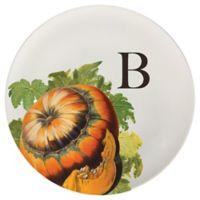 93 West Autumn Squash 11-Inch Round Platter