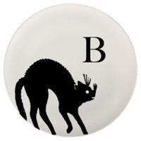 93 West Autumn Cat 11-Inch Round Platter