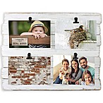 Fetco Home Décor™ Farmhouse 4-Clip Collage Frame in Whitewash
