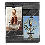Fetco Home Décor™ Farmhouse 2-Clip Collage Frame in Rustic Black