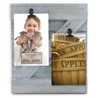 Fetco Home Décor™ Farmhouse 2-Clip Collage Frame in Rustic Grey