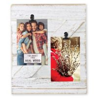 Fetco Home Décor™ Farmhouse 2-Clip Collage Frame in Whitewash