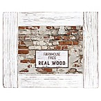 Fetco Home Décor™ Farmhouse 4-Inch x 6-Inch Rustic Wood Frame in Whitewash