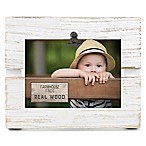 Fetco Home Décor™ Farmhouse Pallet Clip Frame in Whitewash