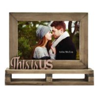 """This is Us"" Decorative Wood and Metal Frame"