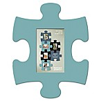 WallVerbs™ Mix & Match Puzzle Frame Pieces Gallery in Turquoise