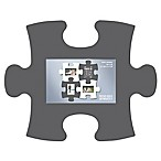 WallVerbs™ Mix & Match Puzzle Frame Pieces Gallery in Grey