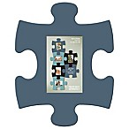 WallVerbs™ Mix & Match Puzzle Frame Pieces Gallery in Blue