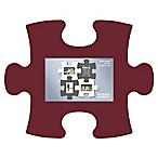 WallVerbs™ Mix & Match Puzzle Frame Pieces Gallery in Burgundy