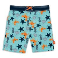 Lassig™ Size 3T Starfish Board Shorts in Blue/Grey