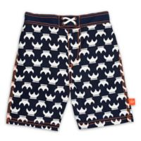 Lassig™ Size 2T Vikings Board Shorts in Blue/White