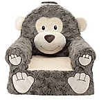 Sweet Seats® Plush Monkey Chair in Brown