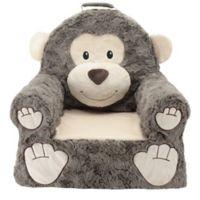 Sweet Seats® Plush Monkey Chair in Brown