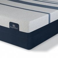 Serta® iComfort® Blue 300 Firm Low Profile Split Queen Mattress Set