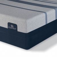 Serta® iComfort® Blue 3000 Elite Plush Low Profile King Mattress Set