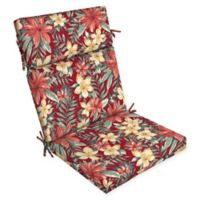 Arden Selections Clarissa Outdoor Cartridge Chair Cushion in Red