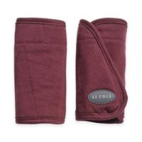 JJ Cole® Reversible Strap Covers in Wine Triangles
