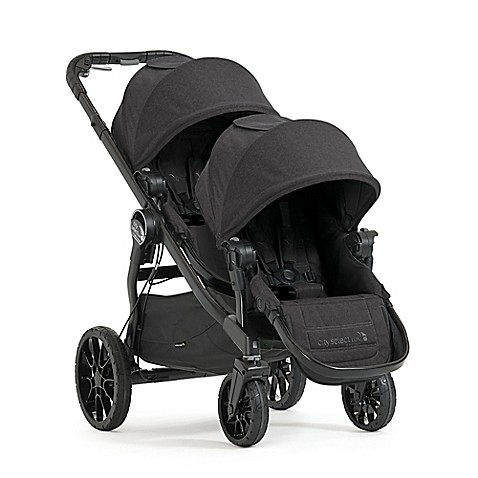 Baby Jogger® 2017 City Select® LUX Convertible Stroller with Second Seat in Granite | Tuggl