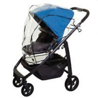 Dreambaby® Stroller Weather Shield in Black Trim Clear/black