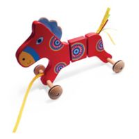House of Marbles TiddlyTots Large Wooden Pull-Along Horse