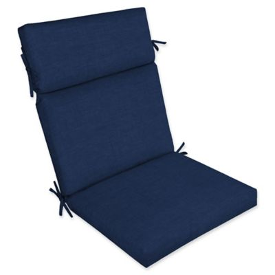 Arden Selections Laela Outdoor Cartridge Chair Cushion In Blue