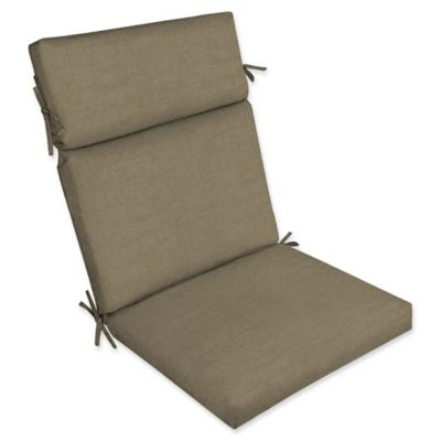 selections by arden laela outdoor cartridge chair cushion in beige