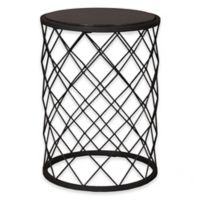 Emissary 19-Inch Net Metal Granite Stool