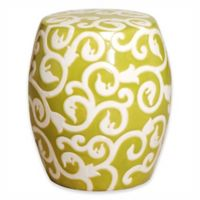 Emissary 17-Inch Vine Stool/Table in Green Apple
