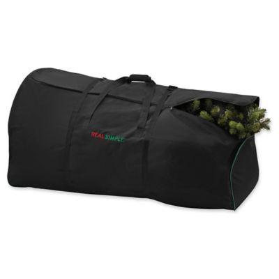Real Simple® 9 Foot Artificial Tree Storage Bag In Black