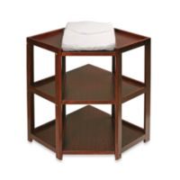 66424d5d7f2 Badger Basket Corner Unit Changing Table in Cherry