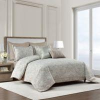 Bridge Street Hampton Full/Queen Comforter Set in Sea Glass