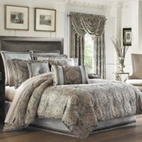 J. Queen New York™ Provence King Comforter Set in Stone