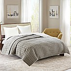 INK+IVY Ayana Full/Queen Coverlet in Taupe/Brown