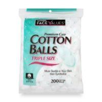 Harmon® Face Values™ 200-Count Triple Size Cotton Balls