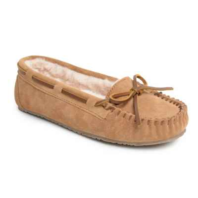 Minnetonka® Angelia Women's Trapper Slipper in Cinnamon