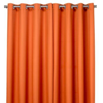 Superior Commonwealth Home Fashions 84 Inch Gazebo Outdoor Curtain In Orange