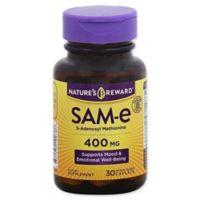 Nature's Reward 30-Count 400 mg SAM-E Enteric Coated Caplets
